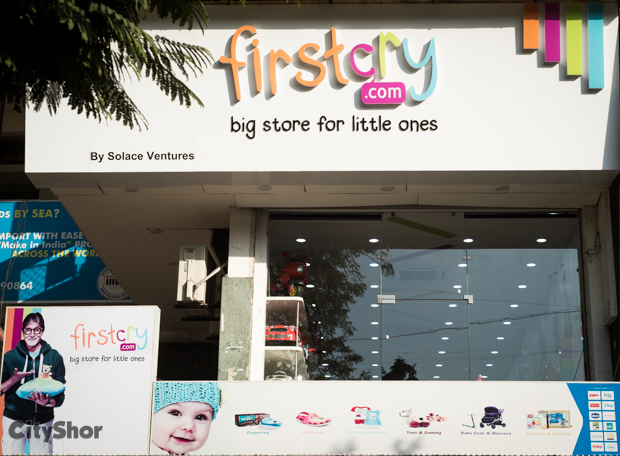 Kids' products on sale all month long @ FIRST CRY C.G. ROAD!