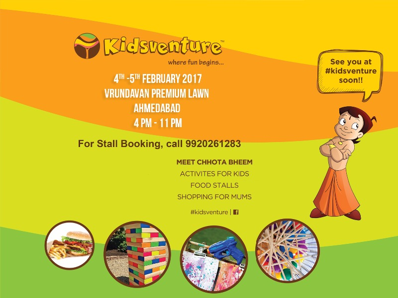 Book your stalls for an amazing Kid's Carnival -Kidsventure!