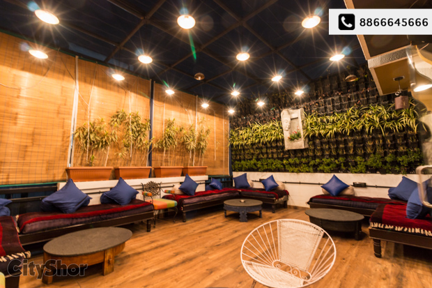 Café, Restaurant, Lounge & terrace|All in one at SEVEN SINS!