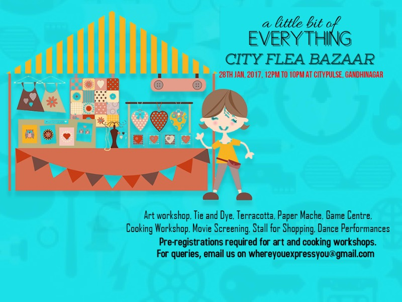 A little bit of everything @ CITY FLEA BAZAAR tomorrow!