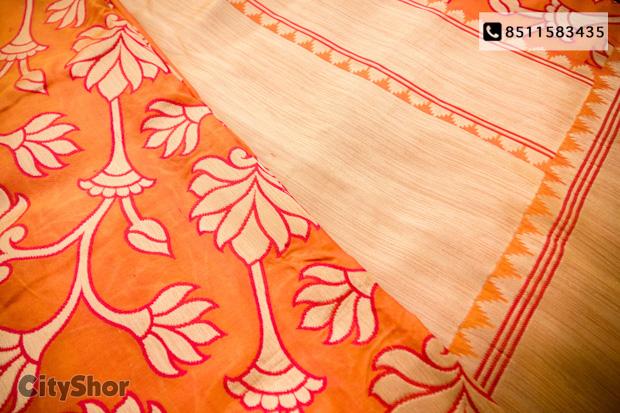 Exhibition of Banarasi Silk Sarees&Dupattas starts tomorrow!