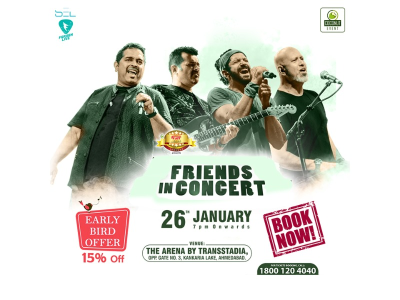 Get 15% OFF-Early Bird Passes  Friends-Live In Concert!