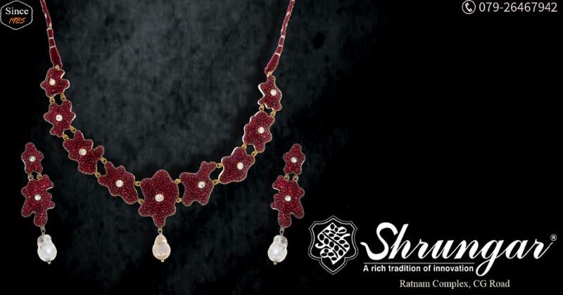 Bask in the Enamouring Designs at Shrungar Jewellers