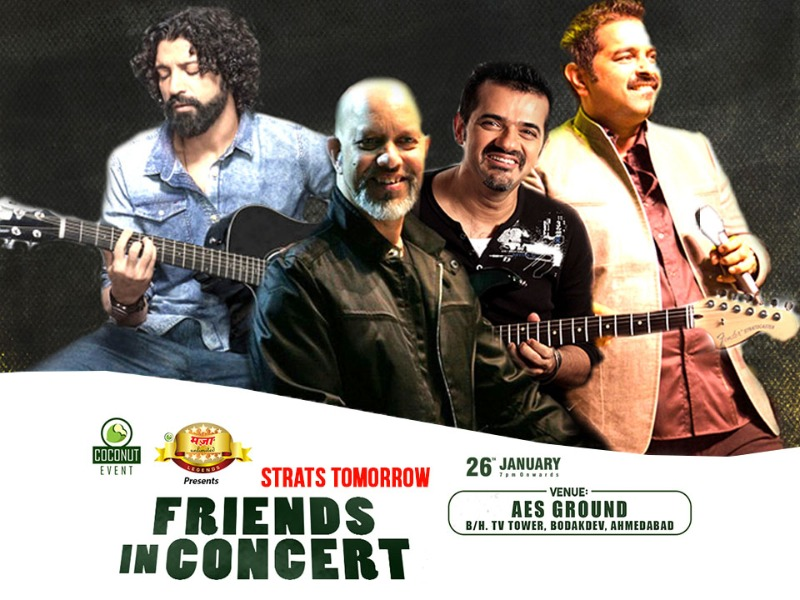 Last day to book your tickets | Friends Live In Concert