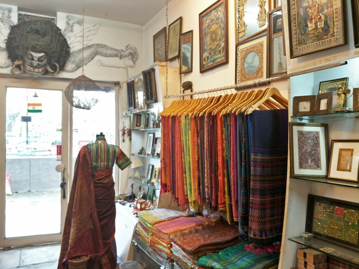 This Store Offers Rich Indian Handlooms With a Contemporary