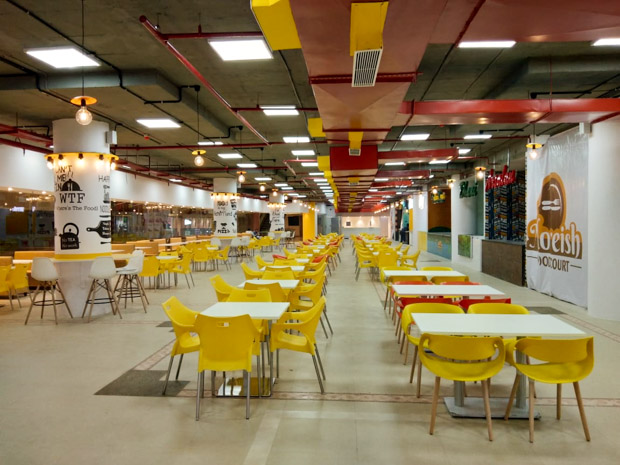Best place to dine out post Uttarayan- Moreish Food Court