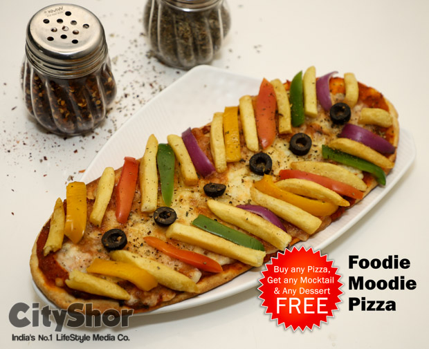 Buy any Pizza Get any Mocktail & any Dessert FREE @Foodiness