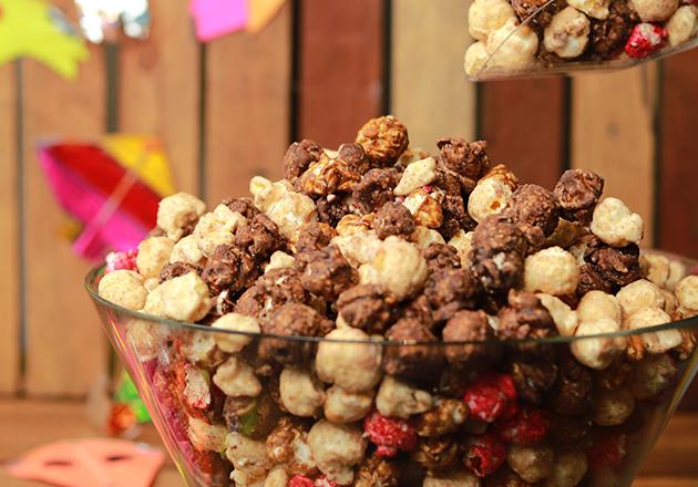 Perfect munchings for Uttarayan- popcorn from Planet Popcorn