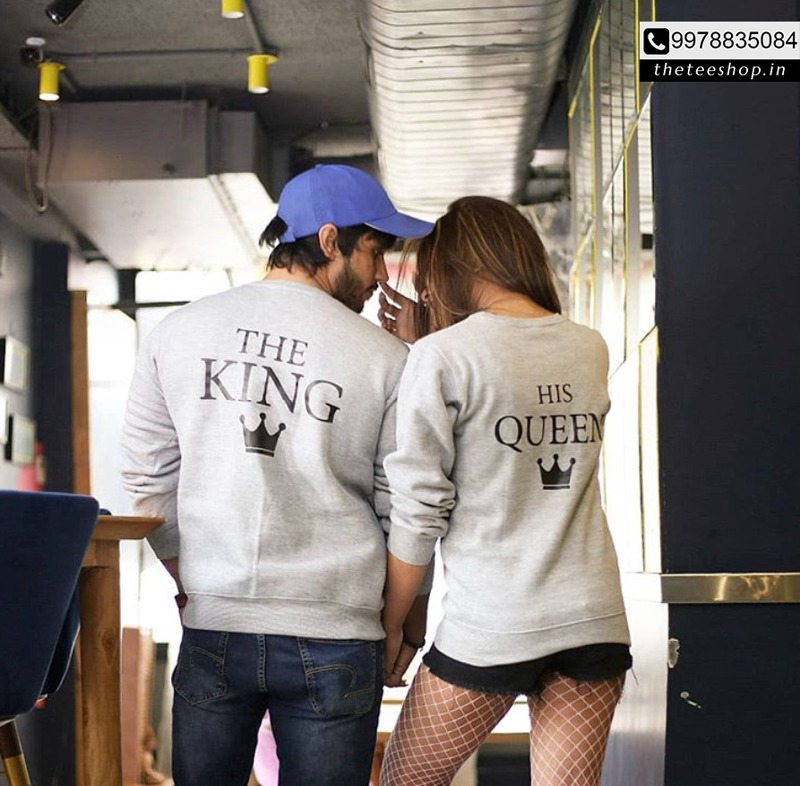 Customised couple n group Tshirts Hoodies by The Tee Shop