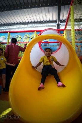25+ games and rides for kids at Fun zone