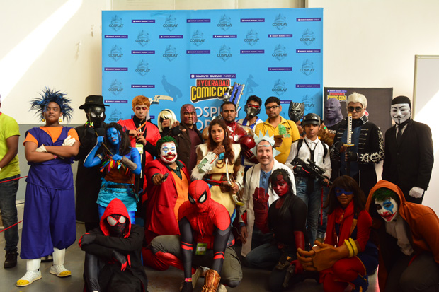 Comic Con for the first time ever in Ahmedabad