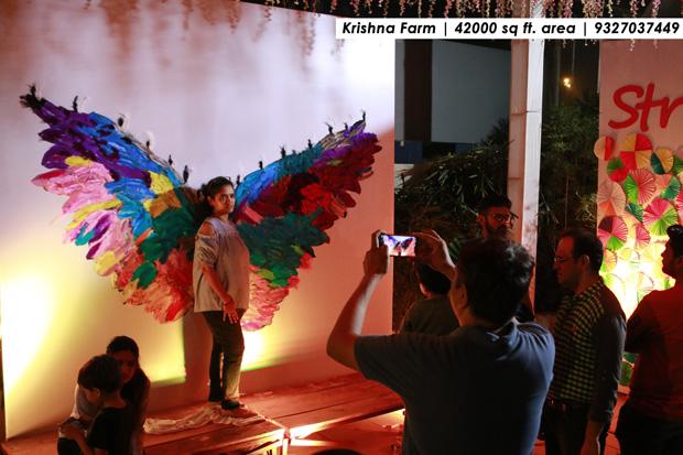 Apt location for events on Sindhu bhavan road - Krishna Farm