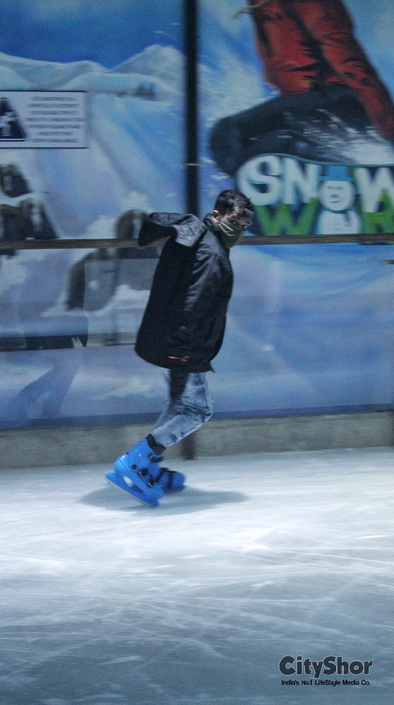 Exp -10 degree 1st time in Ahmedabad - Snow World