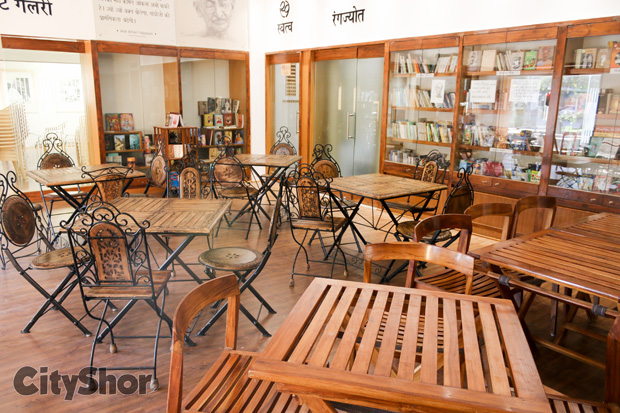 Brand new cafe which promotes Gandhiji's philosophy