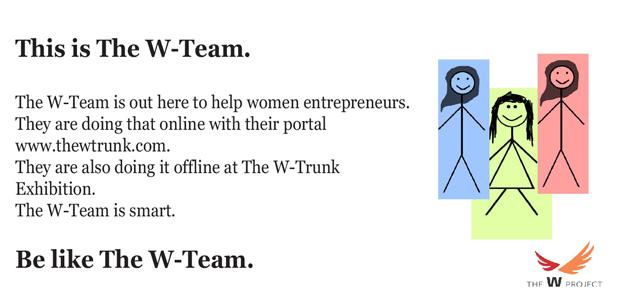 W-Trunk online portal for Women