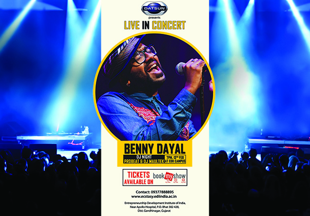 BENNY DAYAL - Live in Concert at EDII
