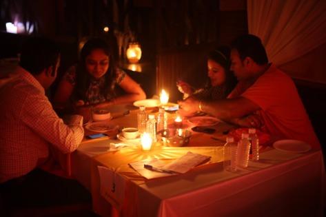 Candlelight Dinner at HOTEL PLATINUM INN