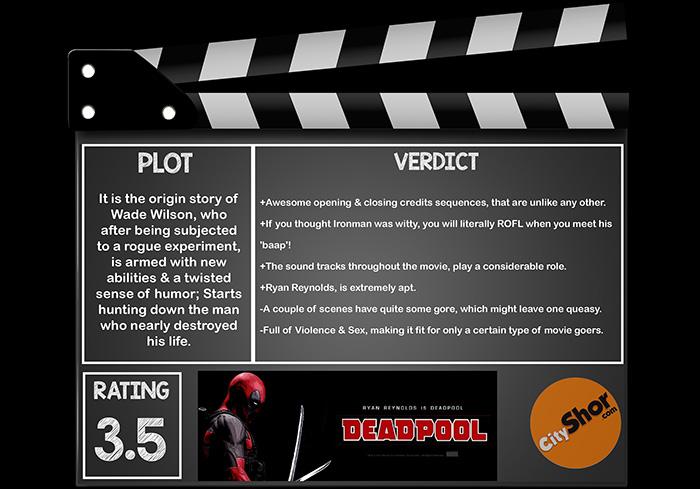 Movie Review - DEADPOOL