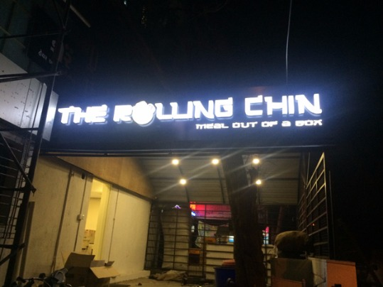 New Eatery for Chinese - Rolling Chin
