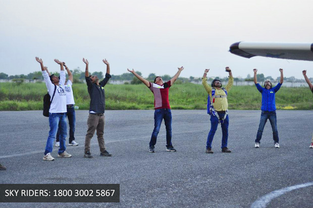 SKY DIVING comes to Mehsana!