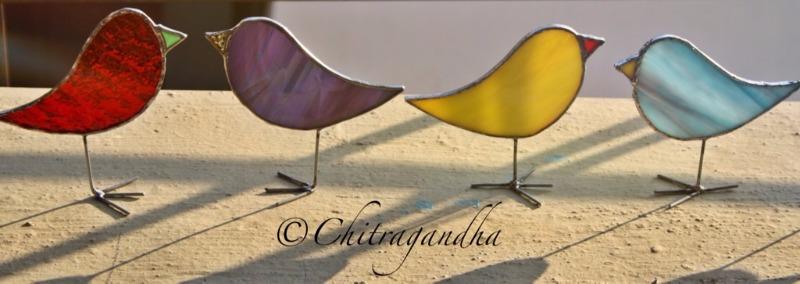 STUDIO CHITRAGANDHA - Stunning Stained Glass Creations Galore