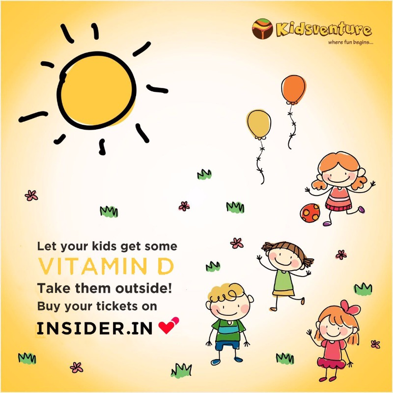 Unlimited games & activities for just Rs. 500 @ KIDSVENTURE!