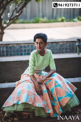 Beautiful pastel apparels by INAAYA on display this weekend!