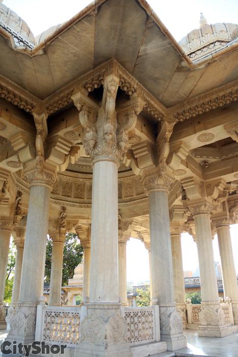 Solving the mystery behind half-done Maharani ki Chhatris
