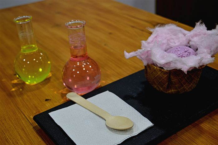 Yummy Experiments to Savour at this Lab-themed Dessert Place