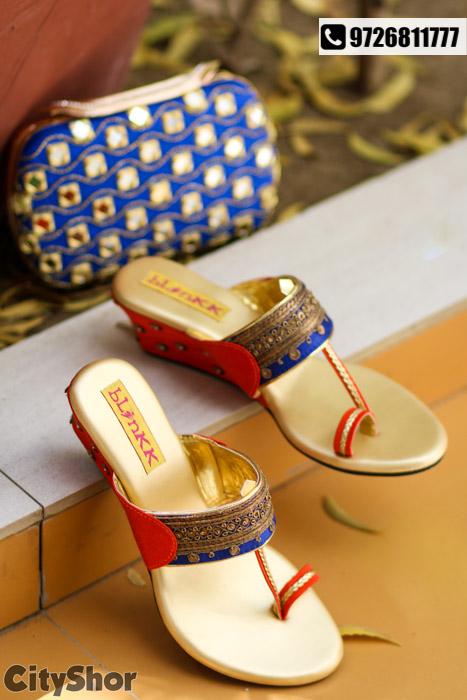 Drop dead gorgeous Box clutches & footwear combos by BLINKK!