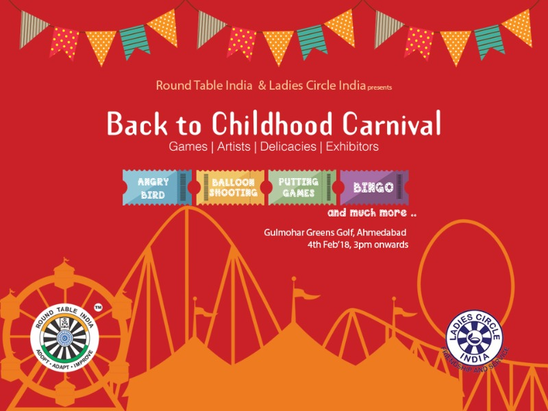 This Sunday, Take you Kids to the Back to Childhood Carnival