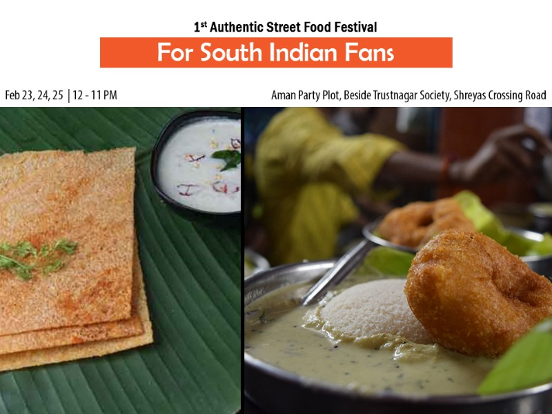 2 days to go for the 1st Authentic Street Food Festival