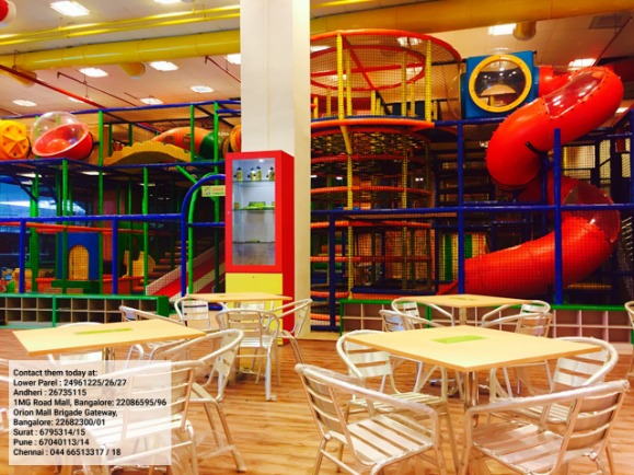 Planning a party for your kids? Try this Indoor Play Centre
