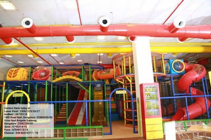 Planning a party for your kids? Try this Indoor Play Centre!