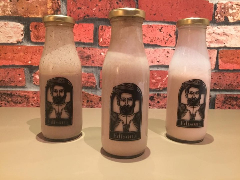 Experiment with flavours at Edison's Experiments with Milk