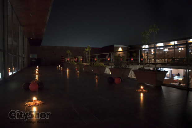 Candle Light Dinner in Private area at Maple 99