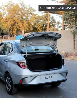Size-Price of Hatchback | Power of a sedan- Hyundai Aura
