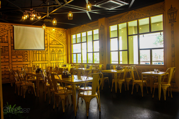 5 course meal & Candle lit dinner at The Little H Resto cafe