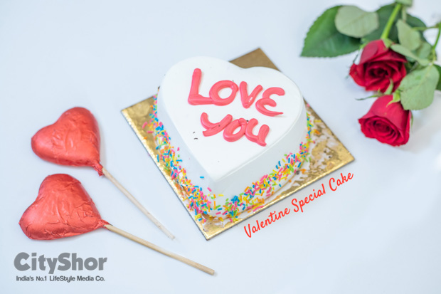 Valentines special cakes at Cakes N Bakes starting at 100