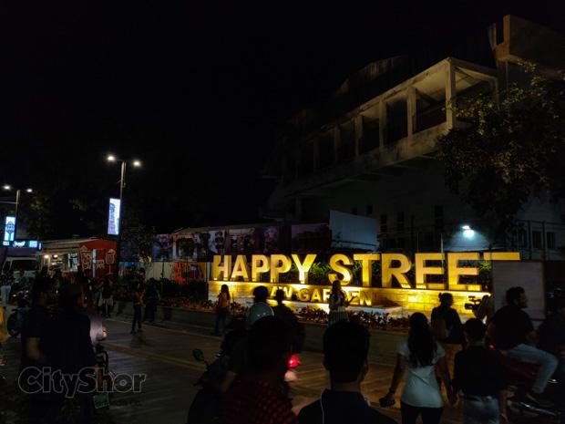 Law Garden Now N Then- Khau gali vs Happy Street