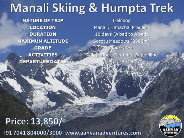 Aahvan Adventures - for the dream trekkers!