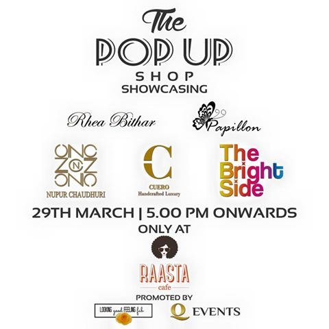 Sundowners & Shopping: The Pop Up Shop at Raasta Cafe