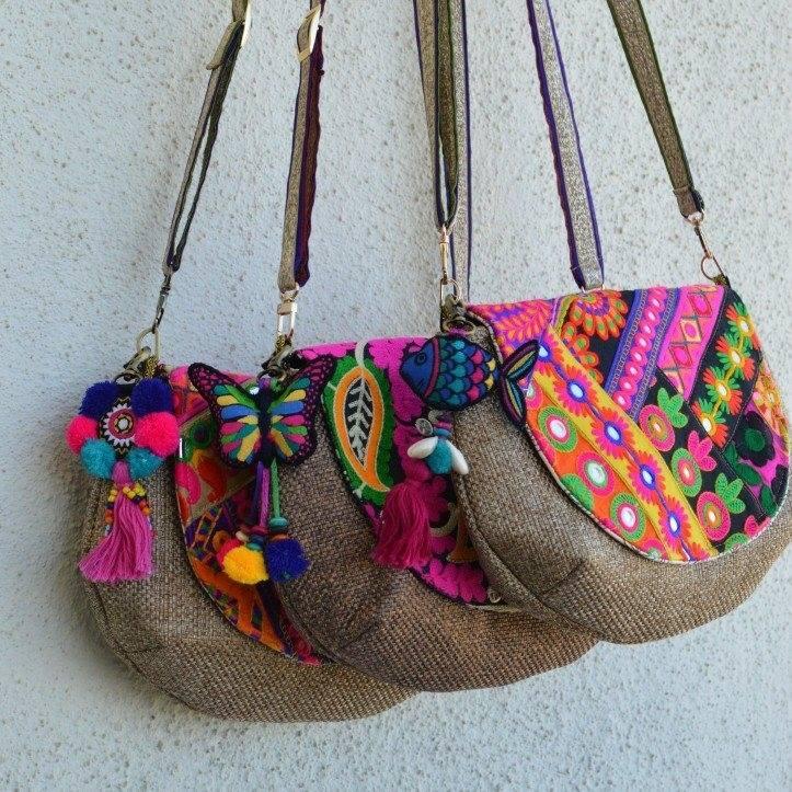 how to make handmade fabric bags