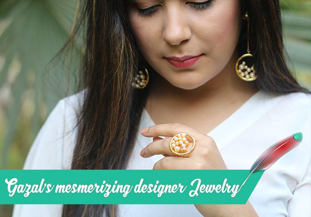 GAZAL's mesmerising Designer Jewellery