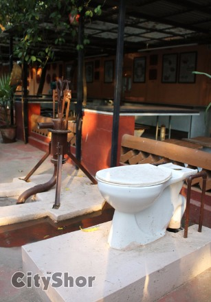 Explore The TOILET CAFE in Ahmedabad