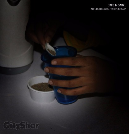 Experience CAFE IN DARK for probably the First Time in Ahmedabad