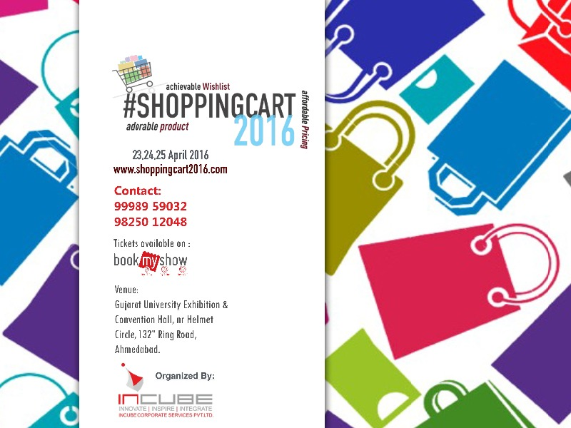 Inviting Bookings for #ShoppingCart2016