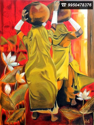 A Window to an Artistic World through Arti's Canvas!