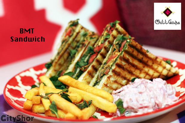 Let the food speaks with your palate at Chill Goza!
