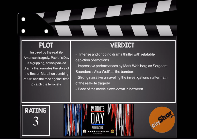 Movie Review - Patriots Day